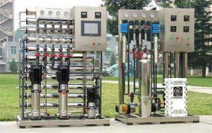 طراحی و تولید دستگاه الکترودیالیز EDI